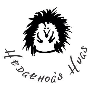 Hedgehog's Hugs logo - jeż
