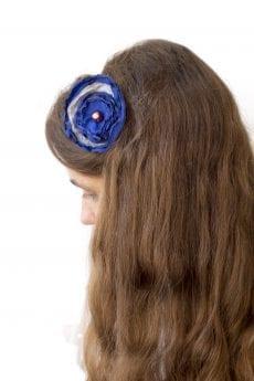 Dzikie Twory - opaska na włosy - z kwiatkiem36